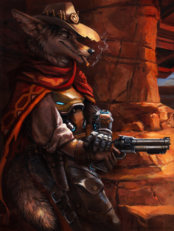 mccree by kenket fur affinity dot net